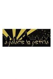 Gold Foil Palace Sticke