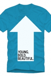 Young, Bold, and Beautiful (Teal)