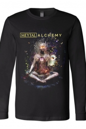 Alchemy Long Sleeve Tee (Black)