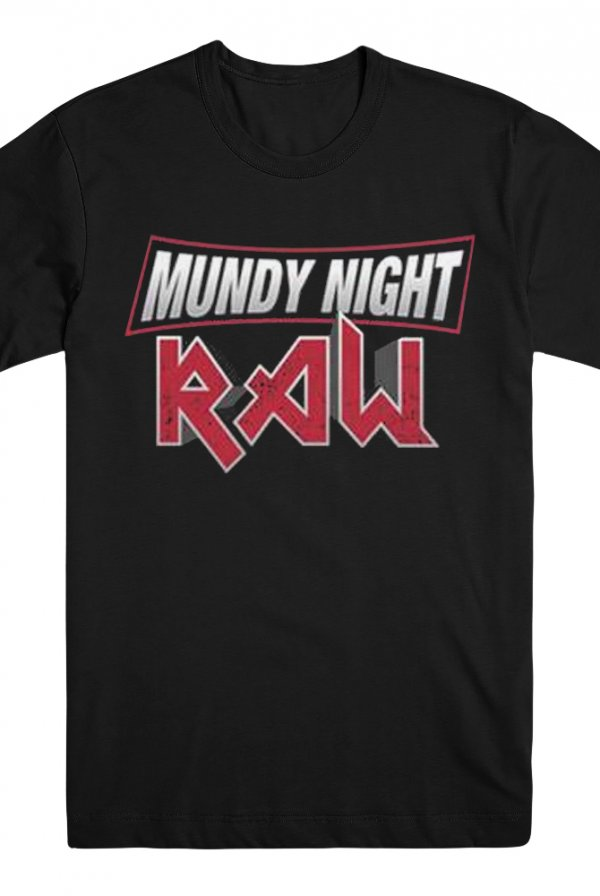 Mundy Night Raw Tee (Black)