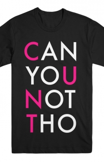 CAN YOU NOT THO Tee - R Version