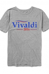 Vivaldi 2016 Tee (Heather Grey)