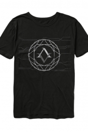 Geo Sphere Tee (Black)