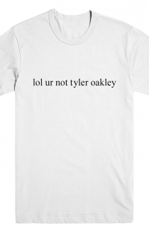 Not Tyler Oakley (White)