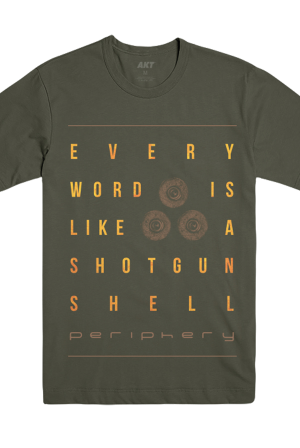 Shotgun Shell Tee (Army)