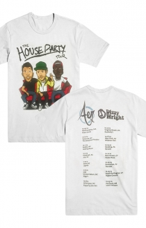 The House Party Tour Tee (White)