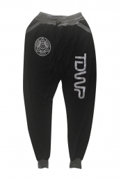 Mission Badge Joggers (Black/Heather Grey)