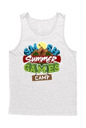 Summer Games Unisex Tank (White)