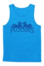 Silhouette Tank (Heather Blue)