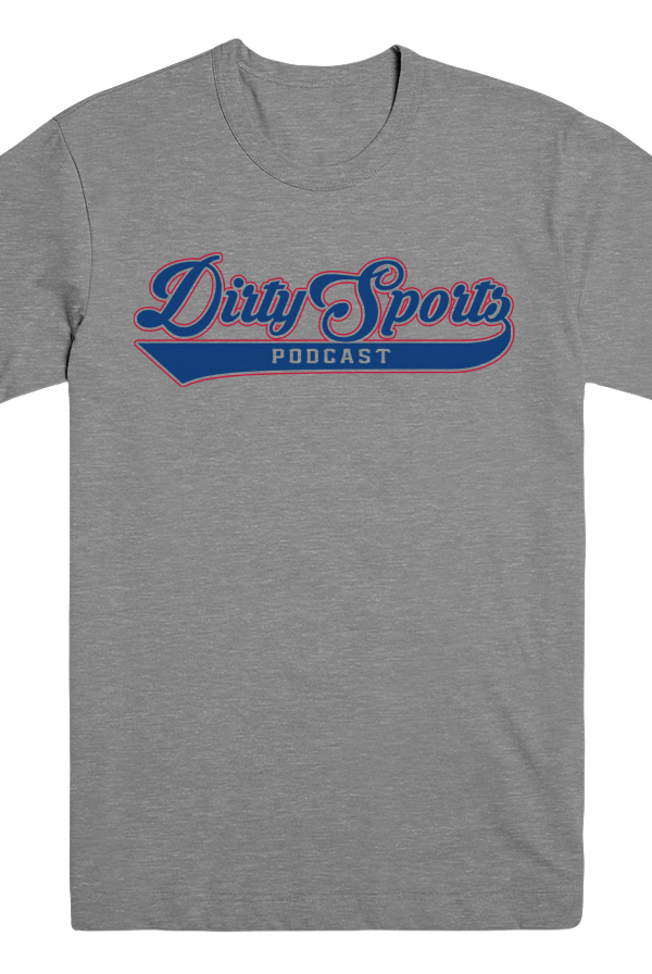 Dirty Sports Podcast Tee (Heather Grey)
