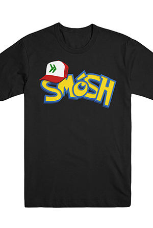 PokeSmosh Tee (Black)
