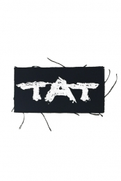 TAT Logo Patch (White)