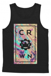 Center Swirl Tank (Black)