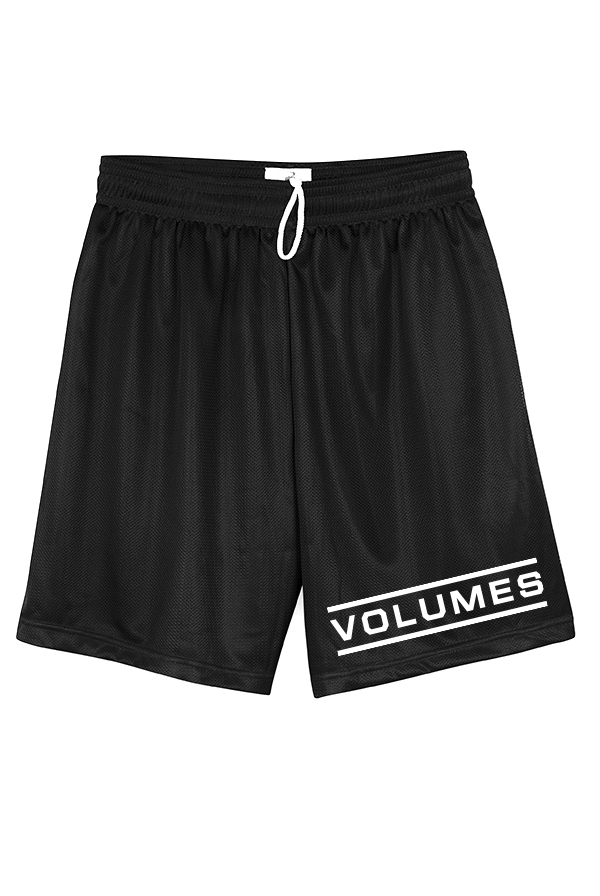 Logo Mesh Shorts (Black)