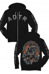 Justified Zip Up Hoodie