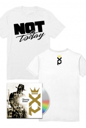 Chasing Grace CD/Digital + Not Today T-Shirt (White) + Entry to XP GOLDEN TICKET contest