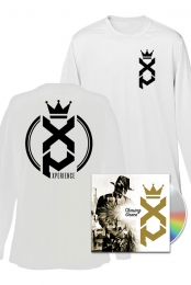Chasing Grace CD/Digital + XP Long Sleeve (White + Entry to XP GOLDEN TICKET contest
