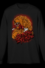 Beasting and Feasting Long Sleeve Tee