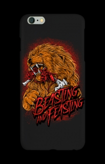 Beasting and Feasting iPhone Case