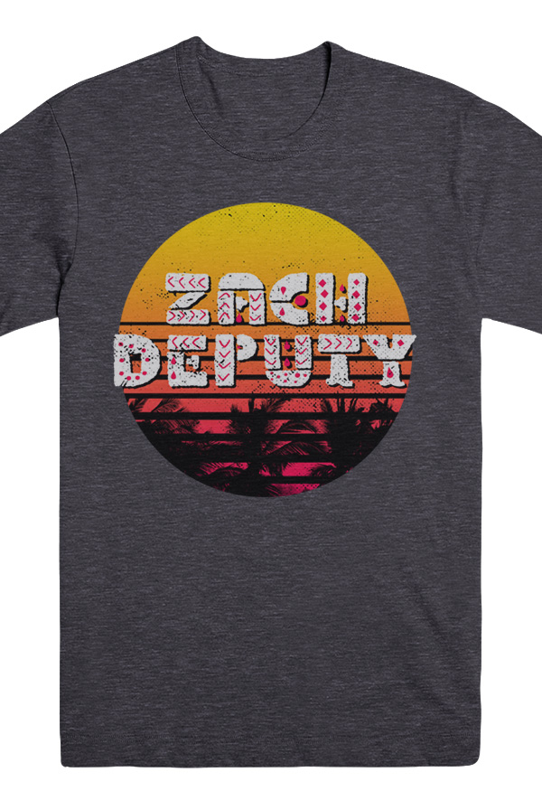 Sunset Tee (Heather Charcoal)