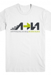 Approaching Nirvana Tee (White)
