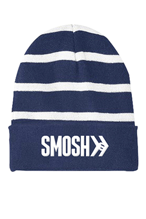 Logo Striped Beanie
