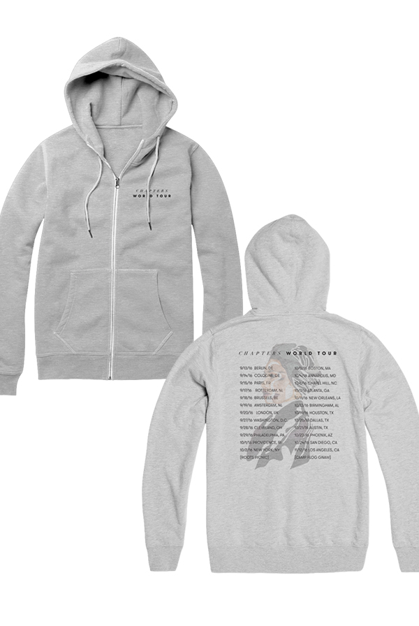 World Tour Hoodie (Grey)