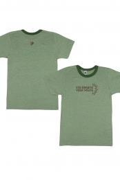 Celebrate Ringer Tee (Grass Green) - Keller Williams