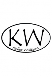 KW Logo Oval Sticker