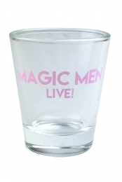 Magic Men Shot Glass