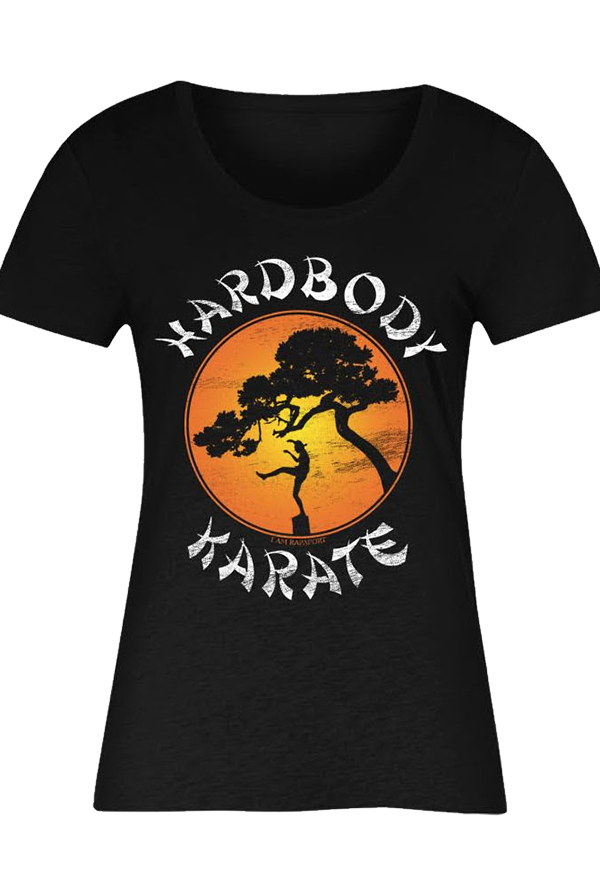 Hardbody Karate Girls Tee (Black)