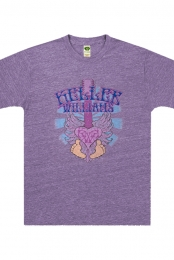 Purple Toes Tee (Heather Purple)