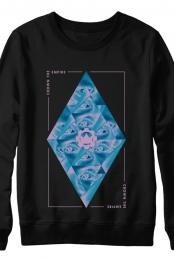 Diamond Eyes Crewneck (Black)