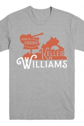 Virginia Tee (Heather Grey)