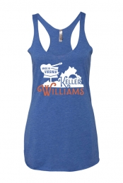 Virginia Ladies Tank (Vintage Royal)