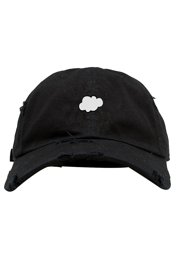 Cloudi Distressed Dad Hat