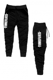 Strike Through Joggers (Black)