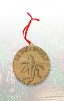 Dandy Wood Ornament