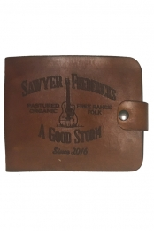 Leather CD Case, Free Range Folk,  A Good Storm Design