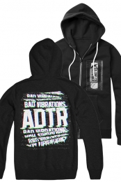 Bad Vibrations Zip Up Hoodie