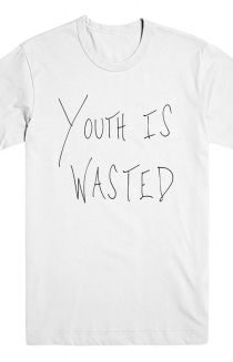Youth Is Wasted Shirt (White)