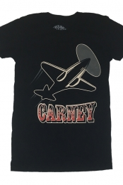 Carney: 2008 Tour Women's Shirt (Black)