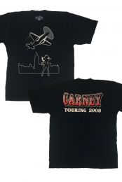 Carney: 2008 Tour Shirt (Black)