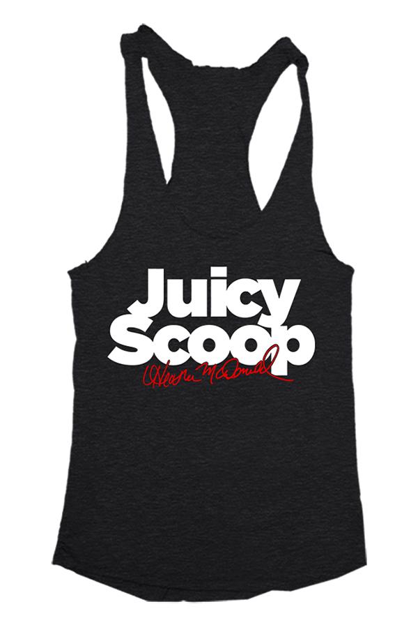 Juicy Scoop Tank T-Shirt - Juicy Scoop with Heather McDonald T ...