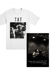 Anxiety Shirt and B&W Poster Bundle