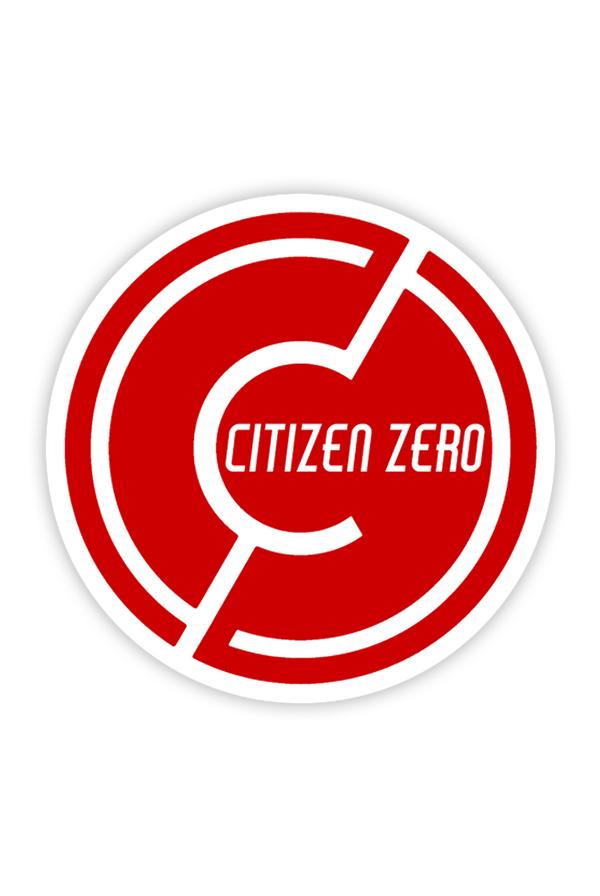 CZ Circle Logo Sticker 3in Accessory
