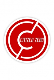 CZ Circle Logo Sticker 3in