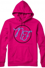 Monogram Pullover Hoodie (Heliconia)
