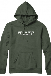 guac is extra and so am i hoodie (olive)