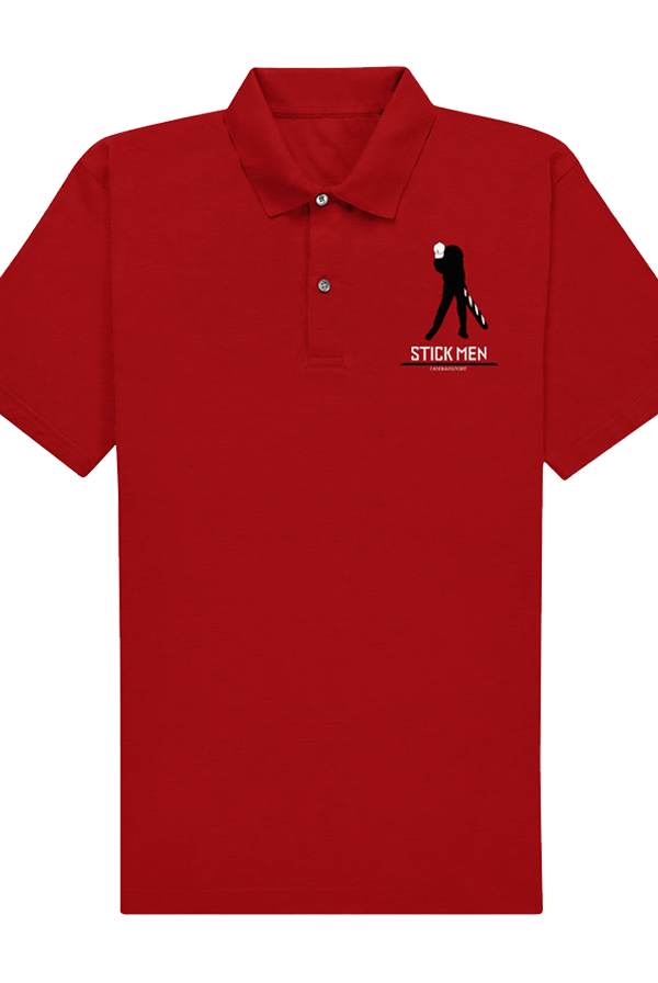 Stickmen Woods Polo (Red)
